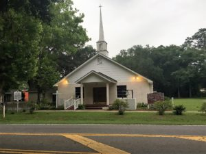 The oldest Baptist Church on Hilton Head Island