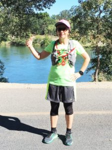 Running on the 23-mile long American River Parkway, one of the largest trails in the country