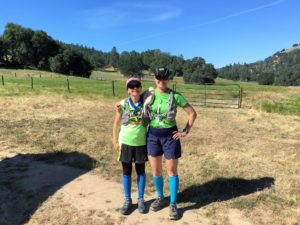 Holly and I at Magnolia Ranch, celebrating my birthday and Global Running Day