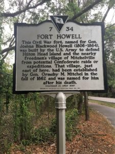 Fort Howell, an important defensive place during the Civil War