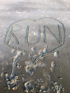 The love of running!